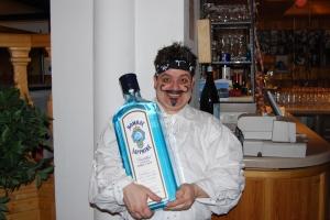 Pirat mit Gin