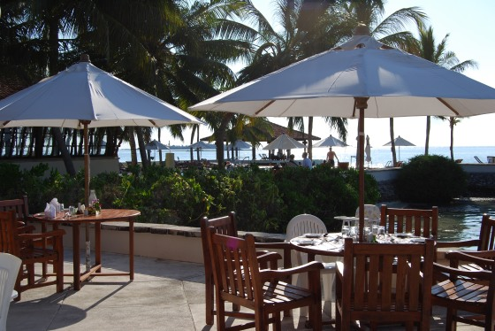 Club Faru - Restaurant-Terrasse