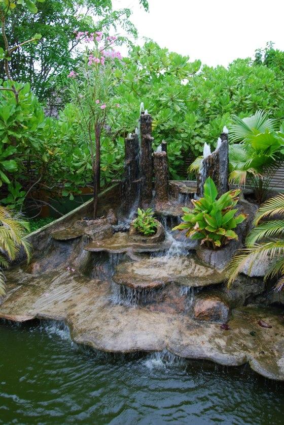 Paradise Island Spa - Wasserfall