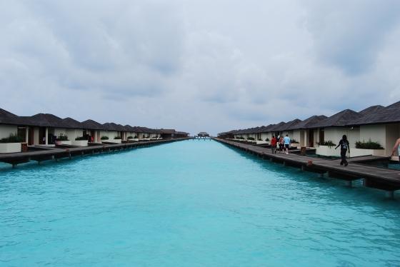 Paradise Island Wasserbungalows