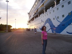 AIDAaura Jamaika Montego Bay Hafen