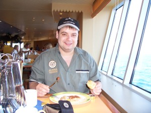 Frühstück auf der AIDA