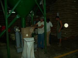 San Pedro Sula Honduras Kaffeefabrik