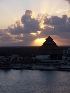 Sonnenaufgang Cozumel Cancun Mexico