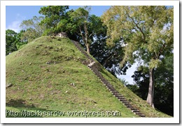 Altun-Ha-Maya-Stufenpyramide