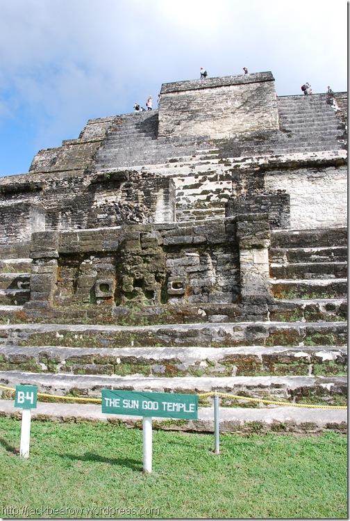 Altun-Ha-Sonnengott-Tempel-Maya
