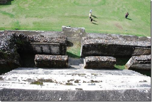 Blick-vom-Sonnengott-Tempel-Altun-Ha