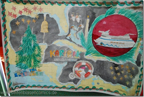 Comicbild-AIDAvita-Weihnachten