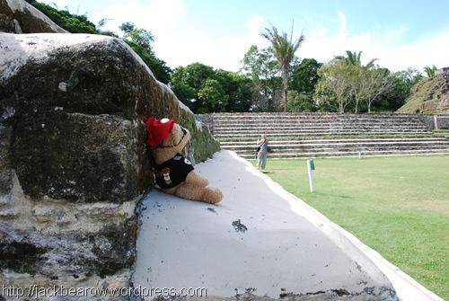 Jack-mit-Blick-auf-Maya-Pyramide