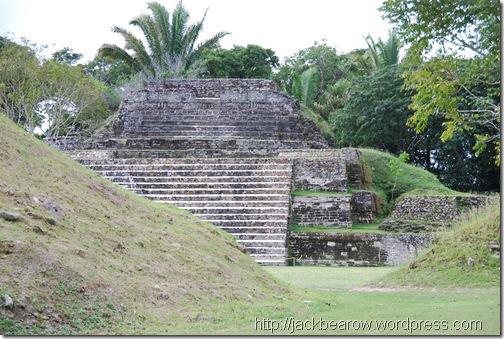 Tempelanlage-Maya-Belize