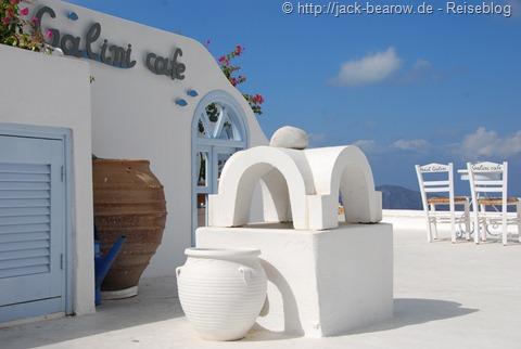 Cafe Galini Thira Fira Santorin Greece Griechenland