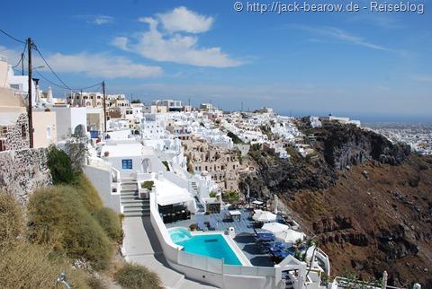 Fira Thira Thera Santorin Greece Griechenland Kykladen