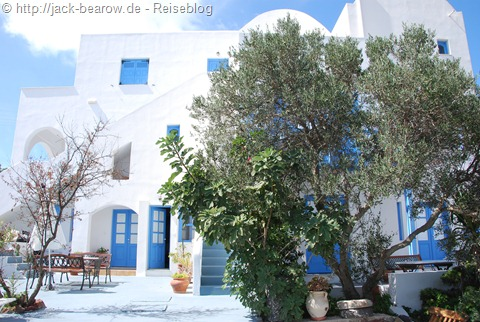 Pension Firostefani Santorin Greece Griechenland